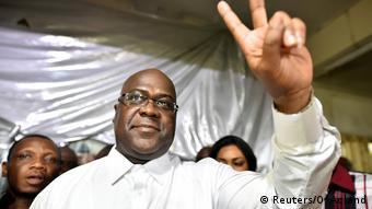 Kongo, Kinshasa: Felix Tshisekedi, Vorsitzender der kongolesischen Oppositionspartei der Union (Reuters/O. Acland)