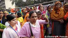 Bangladesch, Dhaka: Näher_innen protestieren für höhere Löhne