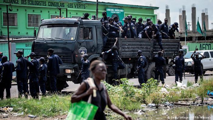 Kongo Wahl Polizei Symbolbild ARCHIV