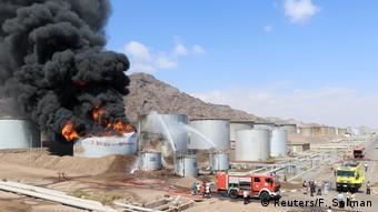 Jemen, Adan: Explosion eines Öltanks