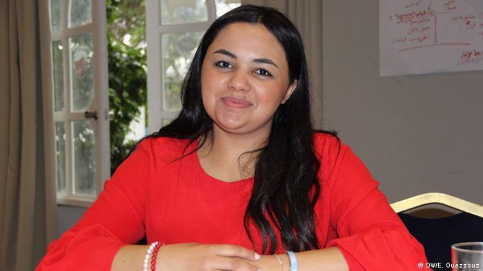 Marokko Portrait Khadija Khafid (DW/E. Ouazzouz)