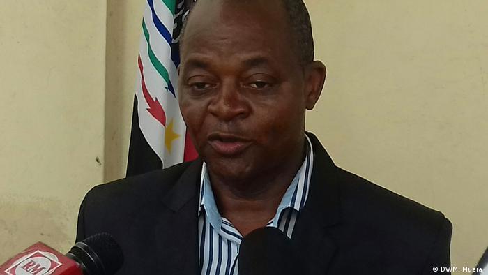 José Manteigas, porta-voz da RENAMO