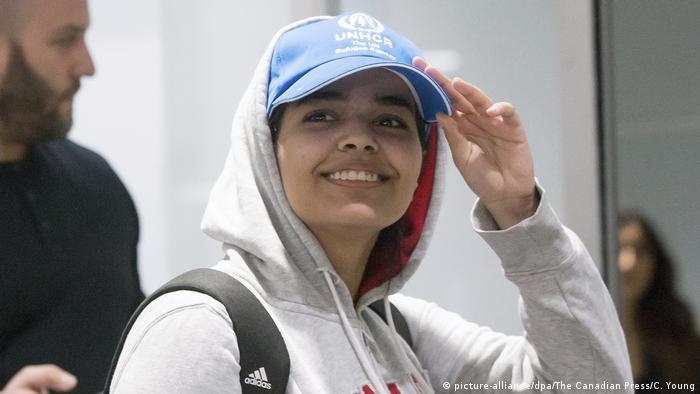 Kanada Rahaf Mohammed el-Kunun