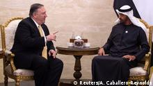 VAE US-Außenminister Mike Pompeo in Abu Dhabi