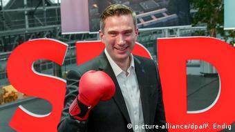 Deutschland Landesparteitag SPD Sachsen Spitzenkandidat Martin Dulig (picture-alliance/dpa/P. Endig)