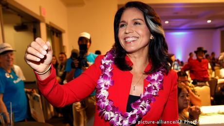 USA Tulsi Gabbard in Honolulu (picture-alliance/AP Photo/M. Garcia)