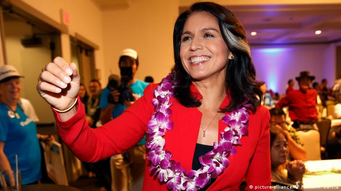 US: Tulsi Gabbard in Honolulu