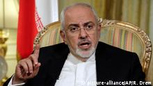FILE - In this April 24, 2018 file photo, Iran's Foreign Minister Mohammad Javad Zarif is interviewed by The Associated Press, in New York. Iran's Foreign Ministry said Monday, July 16, 2018, that if President Donald Trump wants to negotiate after pulling the United States out of the international agreement meant to prevent Tehran from developing a nuclear weapon, he'll have to make the call. (AP Photo/Richard Drew, File) |