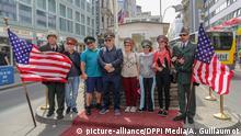 Deutschland Checkpoint Charlie Berlin | Touristen