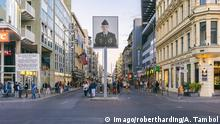 A view of Checkpoint Charlie