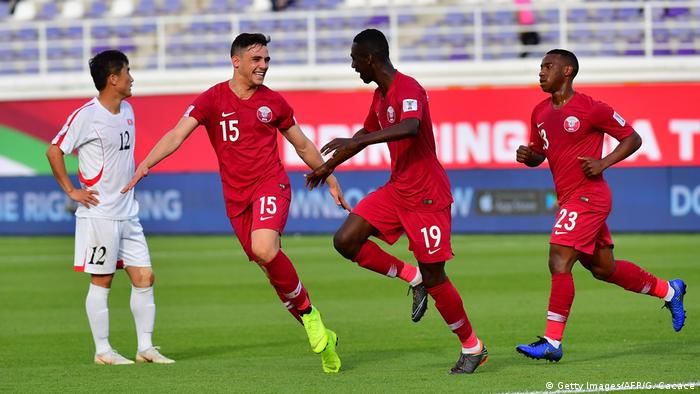 Asian Cup Record Breaking Almoez Ali Inspires Qatar