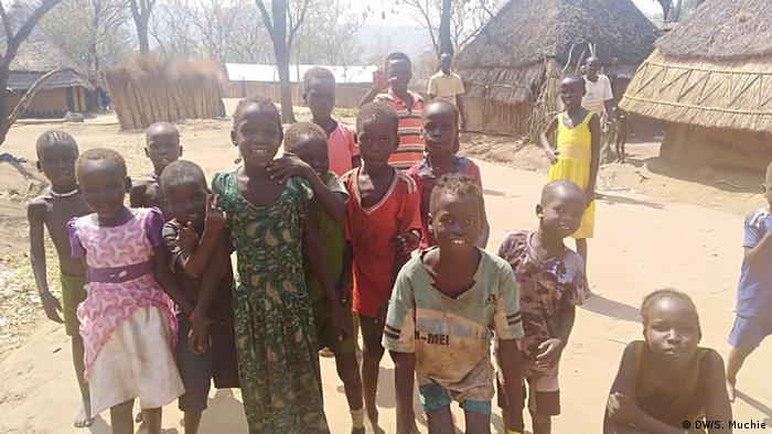 Izbjeglička djeca iz Južnog Sudana u Etiopiji