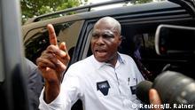 DR Kongo Martin Fayulu in Kinshasa
