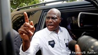 DR Kongo Martin Fayulu in Kinshasa (Reuters/B. Ratner)
