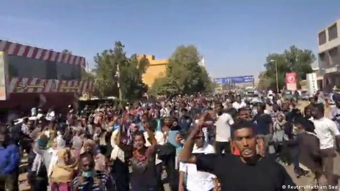 Protest in Omdurman, Sudan
