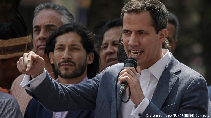 Juan Guaido (picture-alliance/ZUMAPRESS/R. Camacho)
