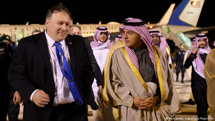 Saudi Arabien Riad Ankunft Mike Pompeo (Reuters/A. Caballero-Reynolds)