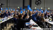 Sachsen, Riesa: AfD - Europawahlversammlung