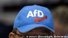 AfD - Europawahlversammlung AfD-Kappe