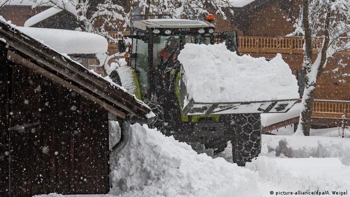 Winter im Bayerischen Wald (picture-alliance/dpa/A. Weigel)