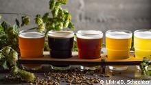 Israel - Haifa: Unterschiedliche Biersorten