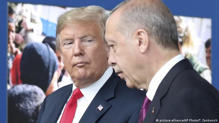 Trump (l.) und Erdogan im Jahr 2018