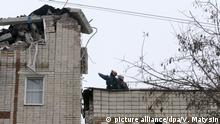 Gasexplosion in Shakhty, Russland
