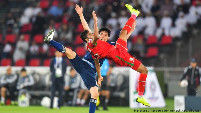 AFC Asian Cup: Japan vs Oman (picture-allianceJapan und en /dpa/imaginechina/L. Shanze)