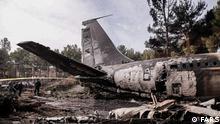 Iran - Flugzeugabsturz