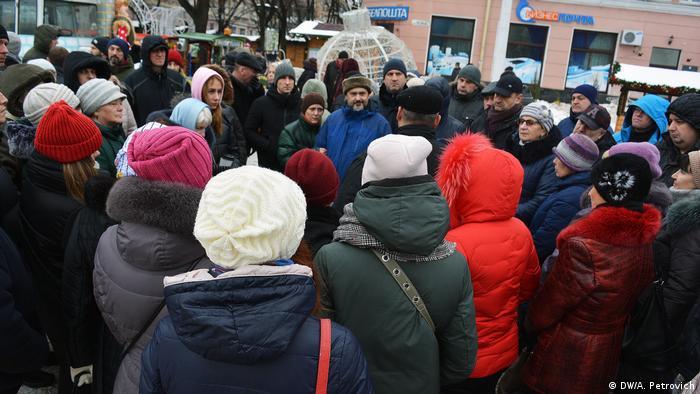 Протестующие против строительства завода в Бересте