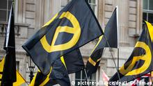 Identitäre Bewegung Demo (picture-alliance/dpa/J. Goodman)