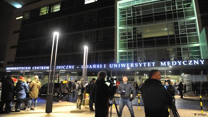 Adamowicz Krankenhaus Klinik Danzig Uniklinik Polen