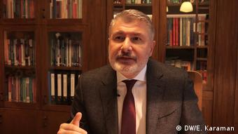 Istanbul - Prof. Dr. Bahadir Erdem (DW/E. Karaman)