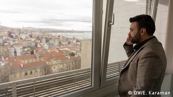 Istanbul - Murat Sarıusta- Direktor des Ata Consulting (DW/E. Karaman)