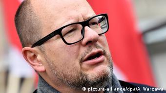 Murdered Gdansk Mayor Pawel Adamowicz (picture-alliance/dpa/A. Warzawa)