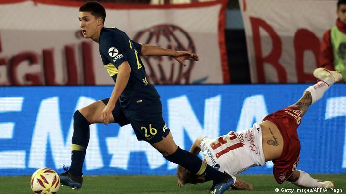Leonardo Balerdi has moved to Borrusia Dortmund (Getty Images/AFP/A. Pagni)