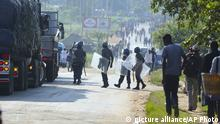 Zimbabwe Fuel Protests