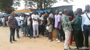 Angola Streik der Eisenbahnarbeiter in Luanda
