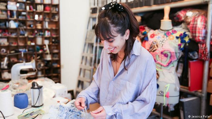 Odély Teboul, Modedesignerin aus Berlin (Jessica Polar)