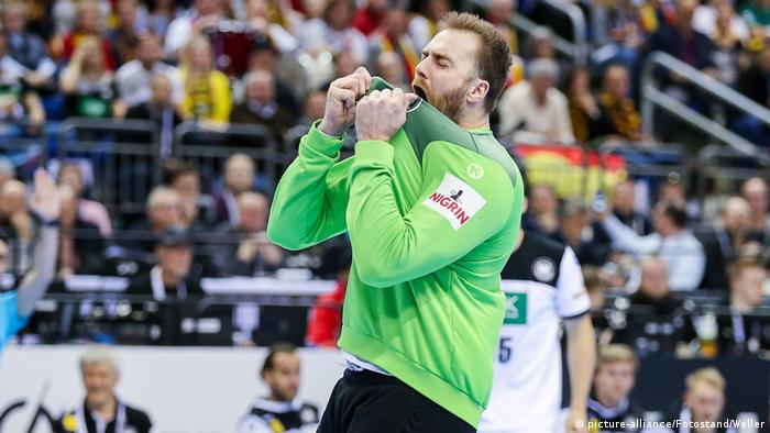 Handball WM 2019 | Russland vs. Deutschland | Andreas Wolf (picture-alliance/Fotostand/Weller)