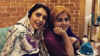 Iran Assal Mohammadi & Sepideh Ghalyan, politische Aktivistinnen (privat)