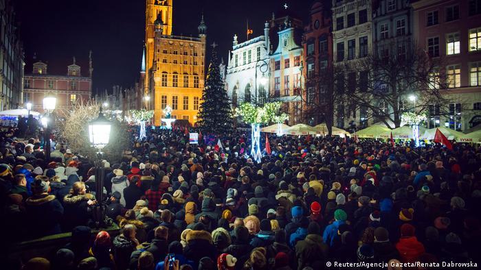 March in Gdansk on January 14 (Reuters/Agencja Gazeta/Renata Dabrowska)