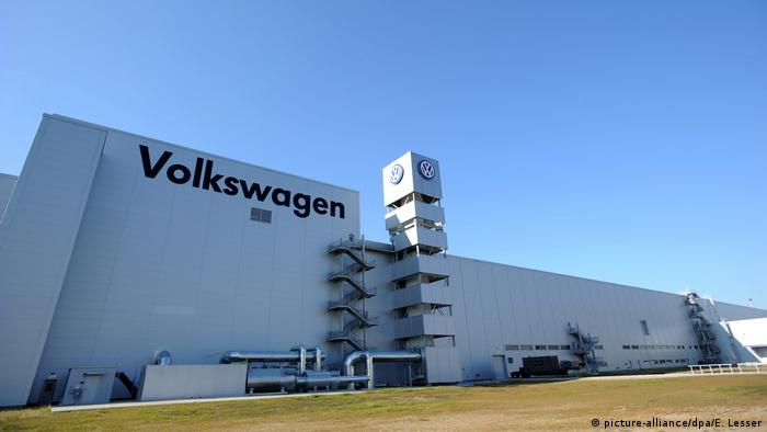 VW plant in Chattanooga, Tennessee