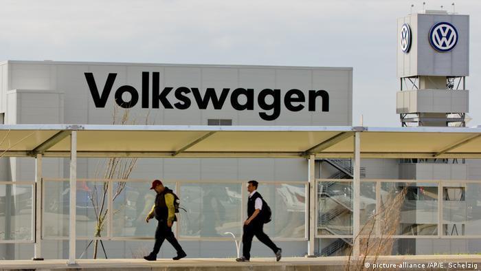 Volkswagen plant in Chattanooga