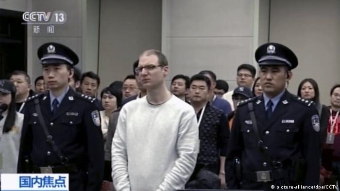 Çin'de yargılanan Kanada vatandaşı Robert Lloyd Schellenberg