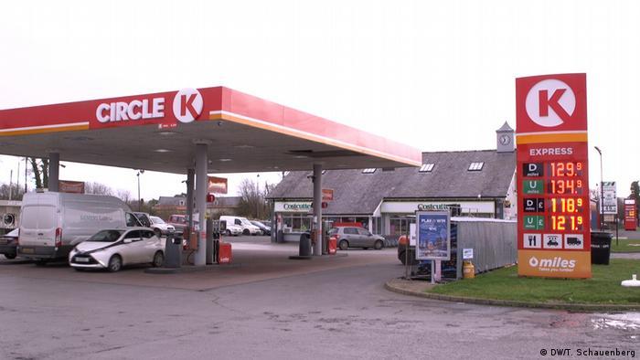 Benzinska crpka tvrtke Circle