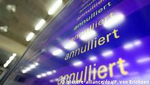 Deutschland, Framkfurt: Streiks bei Lufthansa - Symbolbild Annulliert