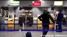 Streik Sicherheitspersonal Flughafen Frankfurt