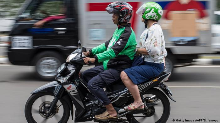 Indonesien Gojek (Getty Images/AFP/B. Ismoyo)