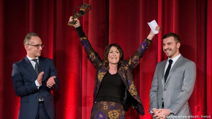 Eröffnung des 40. Filmfestival Max Ophüls Preis - Ehrenpreis für Iris Berben (picture-alliance/dpa/O. Dietze)